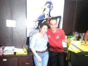 Interview di Radio Pinguin, Bali